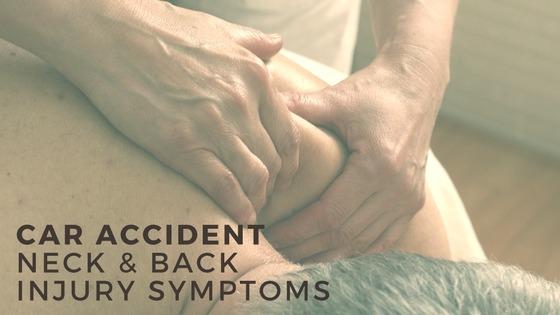 Back and Neck Injury Symptoms