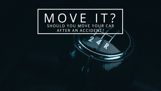 Should You Move Your Car After an Accident
