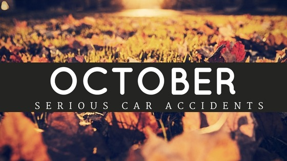 October car accidents