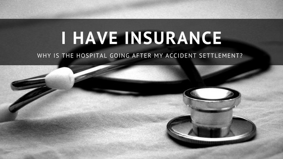 Health insurance but hospital is going after my settlement