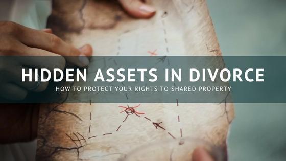 Hidden Assets in a Divorce